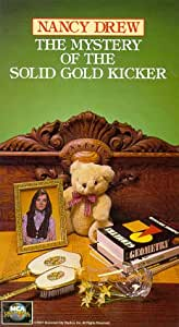 Nancy Drew: The Mystery of the Solid Gold Kicker [VHS]