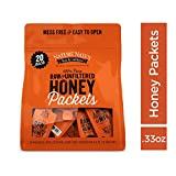 Nature Nate's 100% Pure Raw & Unfiltered Honey; Small Honey Packets in Bulk (10 mL/PKT); 20 Count Bag; Enjoy Honey's Balanced Flavor, Just as Nature Intended; Fresh, Convenient and Easy to Carry Snack Review
