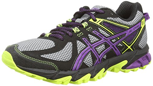 Grey Asics Gel Grau Purple Damen Sonoma 1133 Traillaufschuhe Onyx XpwaSX
