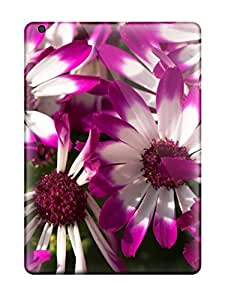 For Ipad Case, High Quality Beautiful Purple Flowers For Ipad Air Cover Cases