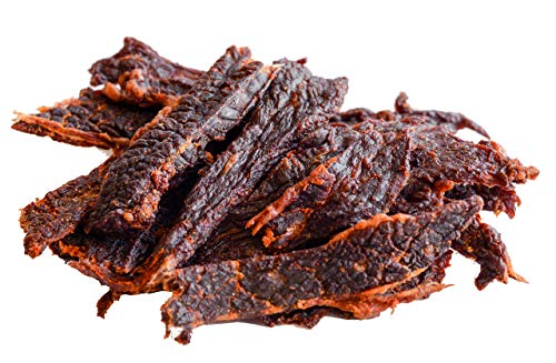People's Choice Beef Jerky - Tasting Kitchen - Nashville Hot - Similar Heat to Carolina Reaper, Scorpion, Ghost Pepper - 1 Pound Bag