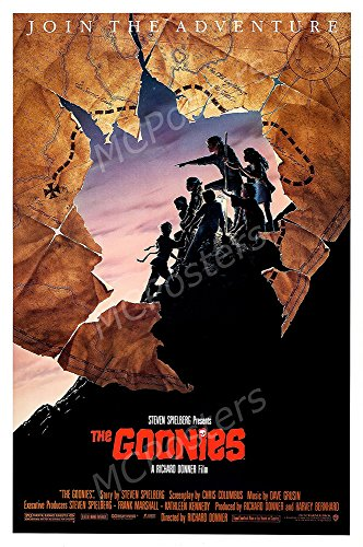 MCPosters The Goonies Steven Spielberg GLOSSY FINISH Movie Poster- MCP222 (24