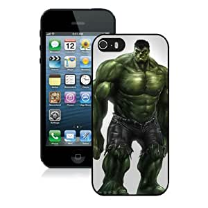 Case For iPhone 5 5S,Jeremy Love Hulk Black iPhone 5 5S Case Cover