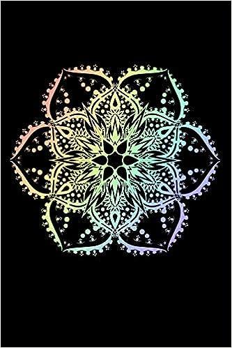 Journal: White Lotus Flower Mandala Yoga Hippie Tattoo Black ...