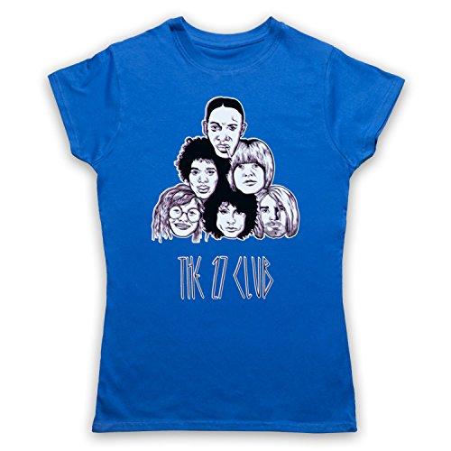 My Icon Women's Dead Musicians 27 Club T-Shirt, Royal Blue, ()