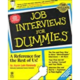 Job Interviews for Dummies/Job Hunting for Dummies
