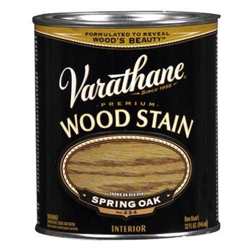 Varathane 211792 Premium Wood Stain, Half Pint, Spring Oak
