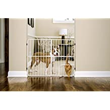 Carlson Pet Products 0632DS Extra Tall Metal Expandable Pet Gate