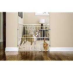 Carlson - Puerta expandible de Metal Extra Alto para Mascotas