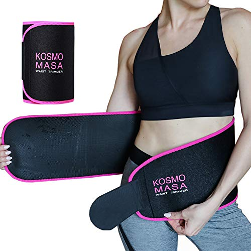 KOSMO MASA Waist Trimmer for Women, Waist Trainer for Weight Loss,Slimmer Sweat Belt for Men