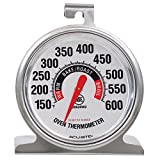 AcuRite 00620A2 Stainless Steel Oven Thermometer