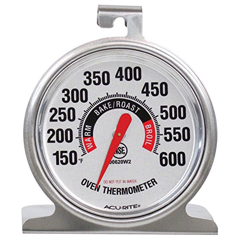 AcuRite 00620A2 Stainless Steel Thermometer