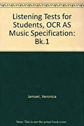 Listening Tests for Students, OCR AS Music Specification: Bk.1