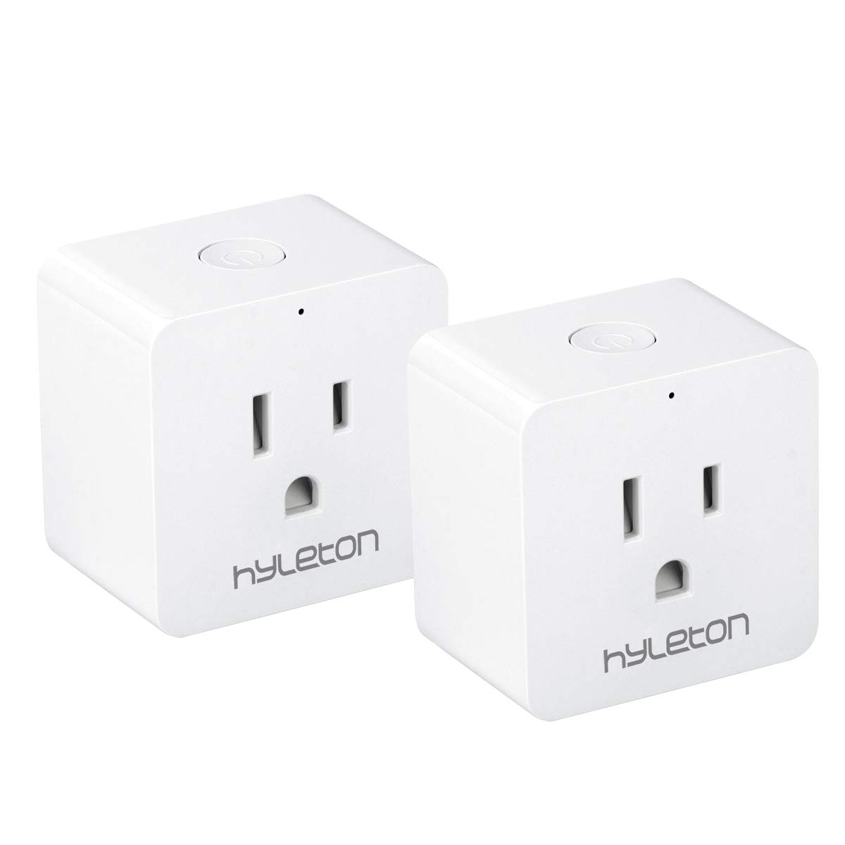 Wifi Smart Plug Hyleton 15 Amp Smart Plug for Alexa and Google Assitant, Control your Devices from Anywhere(311-2P)