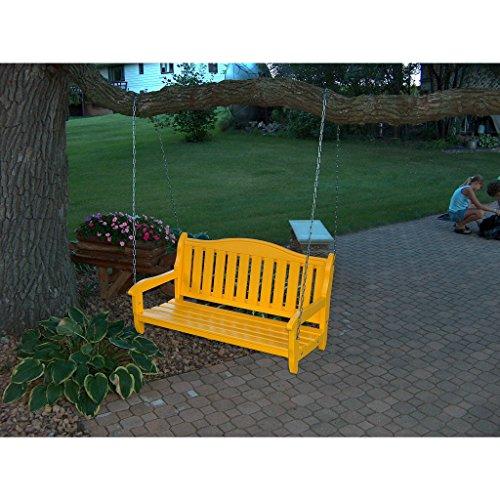 PRAIRIE LEISURE Design Garden Bench Swing - Prairie Leisure Garden Bench