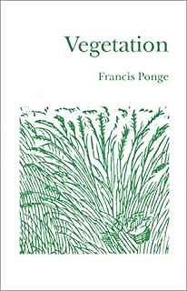Image result for Francis Ponge, The Nature of Things,