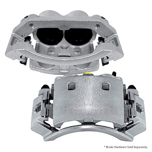 3500 Caliper Brake - For 2000-2002 Dodge Ram 2500, Ram 3500 2 Front Zinc Disc Brake Calipers