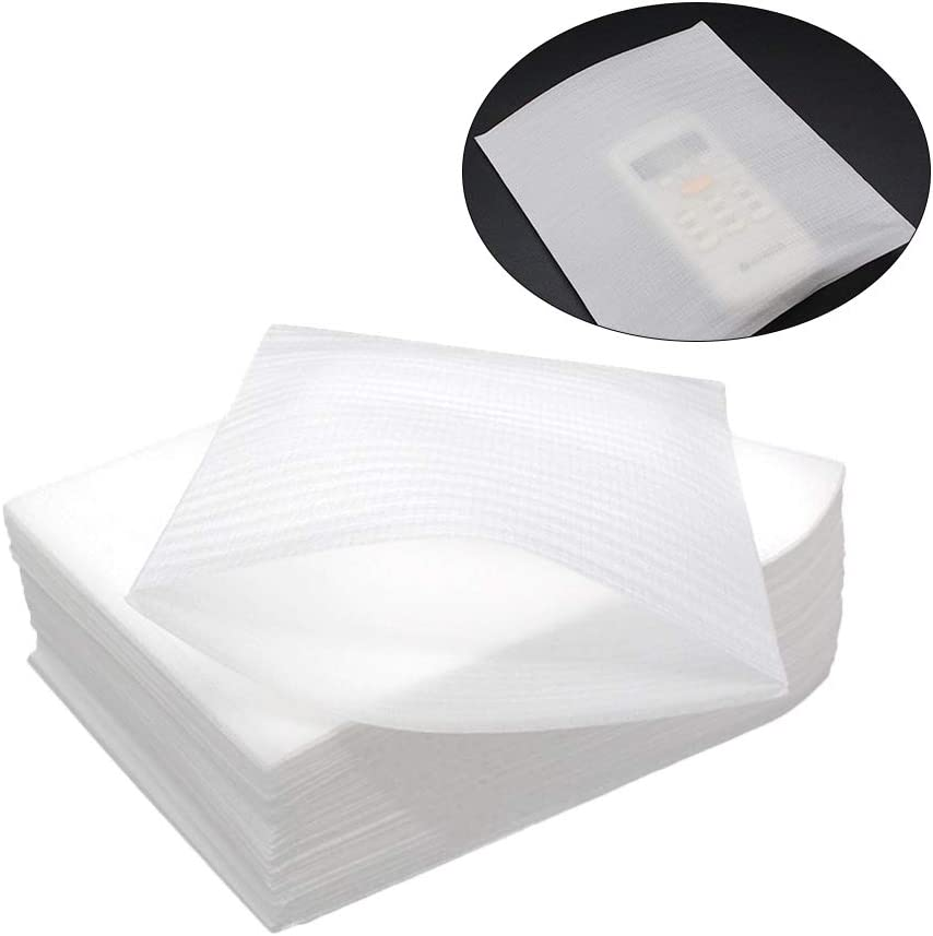 SUPVOX 50Pcs 30x40cm Cuscino Sacchetti di schiuma Wrap Tazza Piatti Forniture di imballaggio in vetro per lo spostamento