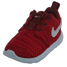 Boys' Nike Roshe One (TD) Toddler ShoeDark Team Red/Wolf Grey-University Red 8C