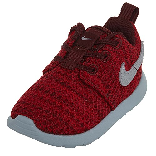 Nike Kids Roshe One Running Shoe Dark Team Red/ Wolf Grey