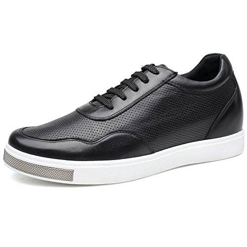 Chamaripa, Sneaker uomo nero Black, Nero, 40D EU