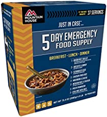Mountain House 5-Day Emergency Food Supply Kit