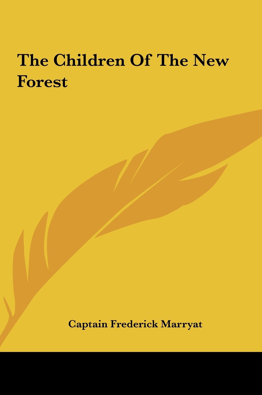 Read Online The Children Of The New Forest pdf epub