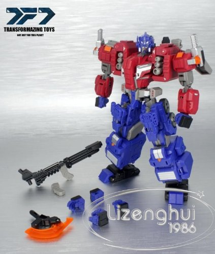 Transformers Transformazing Toys PB-02 Mekbuda Add On for FOC Optimus Prime