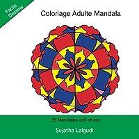 Coloriage Adulte Mandala: 35 Mandalas anti-stress: Livre