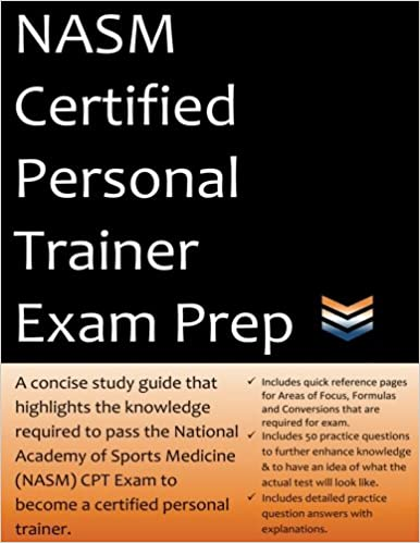 Amazon study guides books nasm certified personal trainer exam fandeluxe Gallery
