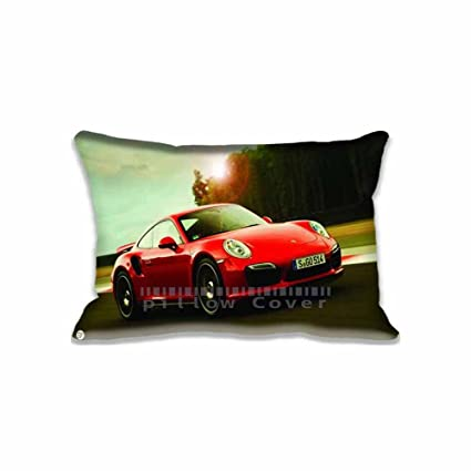 Customized Pringting Porsche 911 Turbo S fundas de almohada diseños Cars manta funda de almohada,