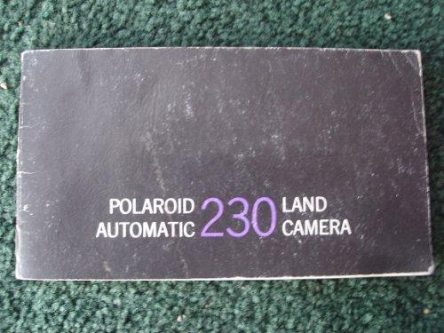 Polaroid Automatic 230 Land Camera - Owners Manual 1967