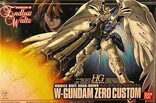 Bandai Hobby EW-01 Wing Gundam Zero Custom Endless Waltz 1/144 High Grade Fighting Action Kit (Gundam Wing Model Kits compare prices)