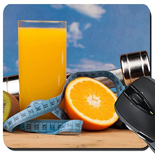 Price comparison product image MSD Suqare Mousepad 8x8 Inch Mouse Pads/Mat design 34734249 fitness equipment and healthy food