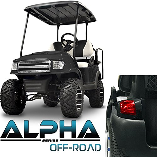 NEW!!! Club Car Precedent ALPHA Off-Road Style Body Kit in Black by Madjax