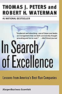 In search of excellence lessons from americas best run companies in search of excellence lessons from americas best run companies publicscrutiny