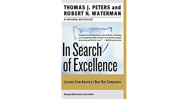 In search of excellence lessons from americas best run companies in search of excellence lessons from americas best run companies livros na amazon brasil 9780060548780 publicscrutiny Choice Image
