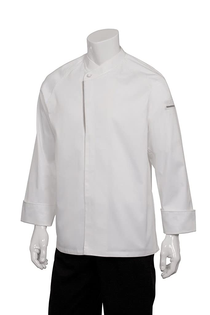 Chef Works Men's Trieste Premium Cotton Coat ECRO-P