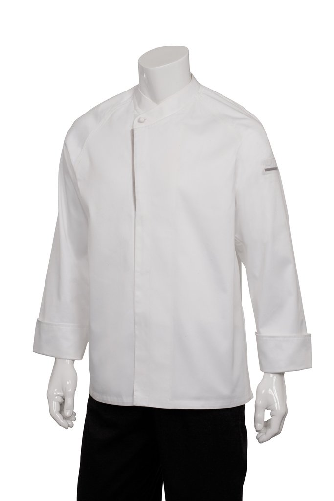 Chef Works Men's Trieste Executive Chef Coat, White, 44 by Chef Works