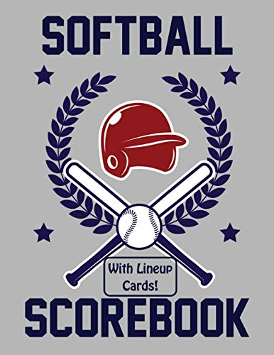 Innings Scorebook - Softball Scorebook With Lineup Cards: 50 Scoring Sheets For Softball Games