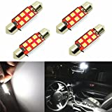 vw jetta 2000 interior parts - Alla Lighting 800 Lumens Extremely Super Bright 6000K White 41mm(1.72