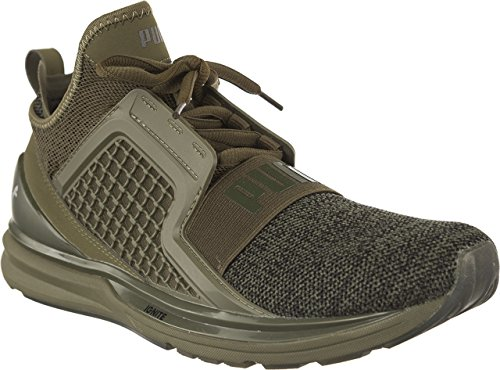 Puma Ignite Limitless Knit 703 Herren Sneakers (Khaki)