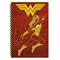 Wonder Woman Laser Cut Wood Notebook (Journal/Planner/Diary)
