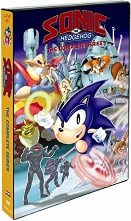 Amazon Com Sonic The Hedgehog The Complete Series Jaleel White Kath Soucie Jim Cummings Charles Adler Christine Cavanaugh Rob Paulsen Bradley Pierce Mark Ballou William Windom Cree Summer Tim Curry John Grusd
