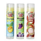 Lappy Lips USDA Certified Organic Lip Balm for Kids (orange, grape, strawberry)