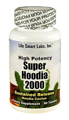 2000 MG Super Hoodia Time Release Hoodia diet pills, 2000mg per 2 cap. serving