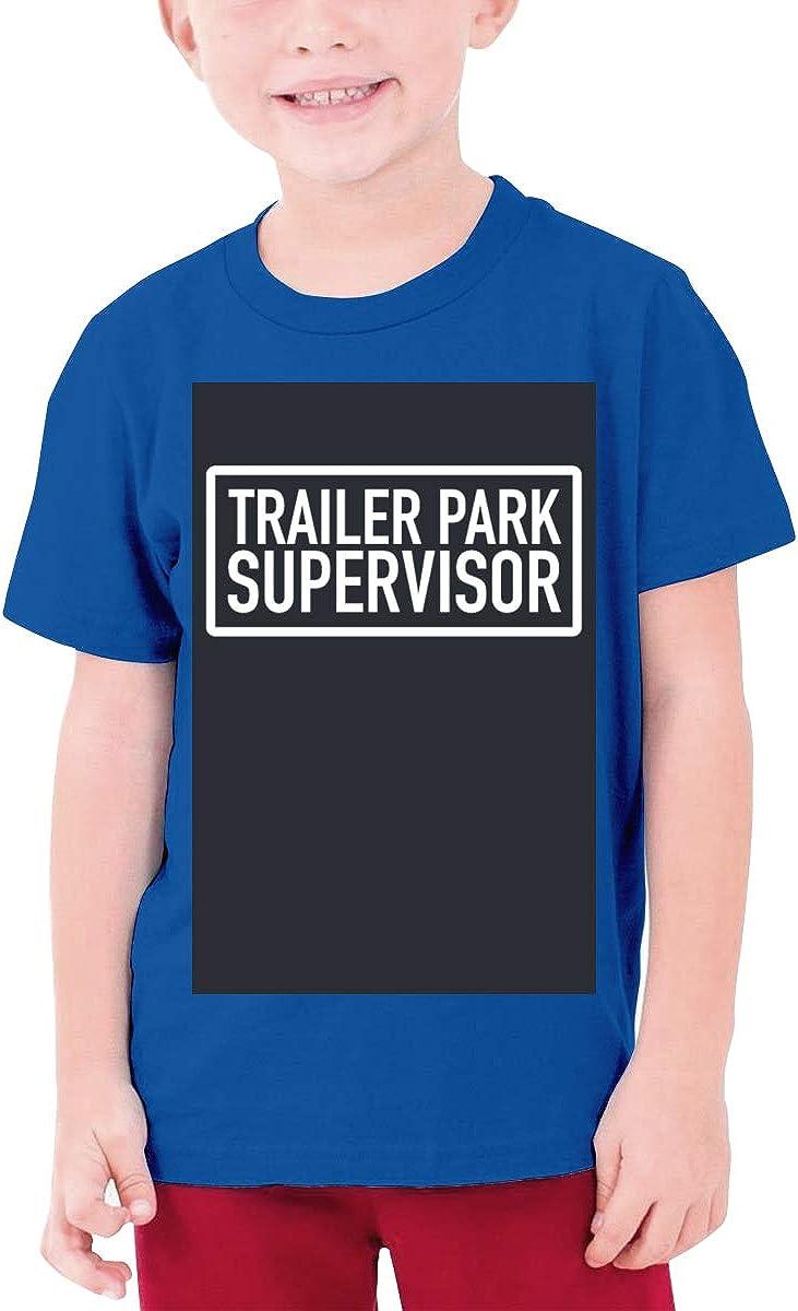 Fzjy Wnx Trailer Park Supervisor Boys Short-Sleeved Shirt