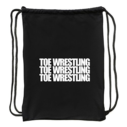 Eddany Toe Wrestling three words Sport Bag by Eddany