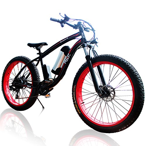 Rcp Eroader26 26 Inch Fat Tire Hybrid E Bike For Men And Women