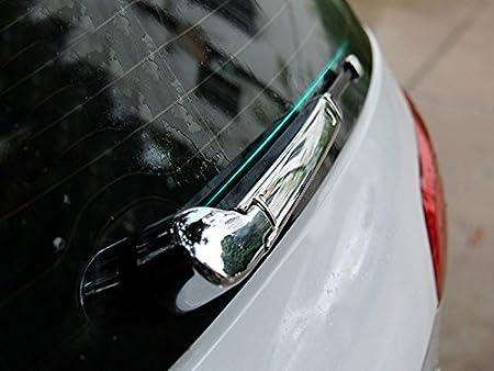 HIGH FLYING 4 moldes para limpiaparabrisas de puerta trasera de plástico ABS cromado para Golf 7 2013-2018: Amazon.es: Coche y moto